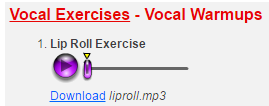 singorama vocal exercises