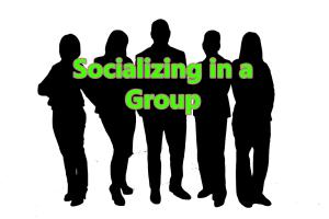 socializing group 1